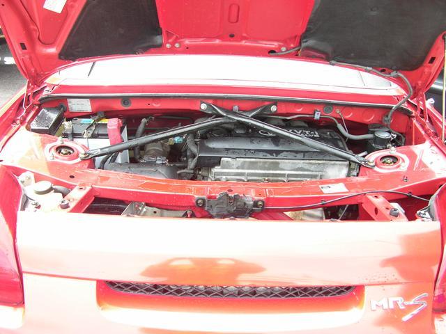 ミッドシップエンジン2シーター オープンカー5速ミッション(17枚目)