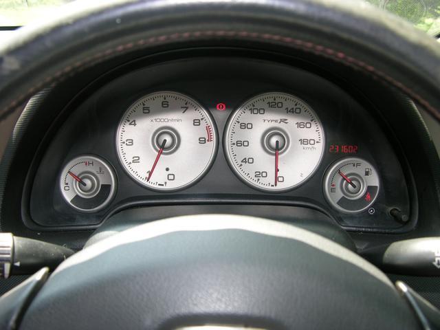 ホンダ インテグラ タイプR インダッシュナビTV 6速ミッション レッドシート