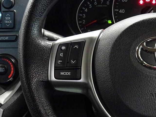 運転中でもステアリングスイッチなので、走行中も安心です。