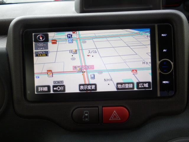 トヨタ スペイド G 4WD フルセグメモリーナビ ETC スマートキー