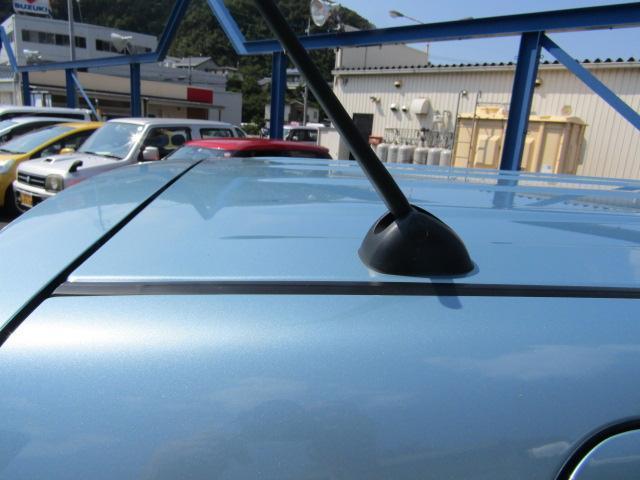 洗車時などに、取外し可能なヘリカルホイップアンテナ