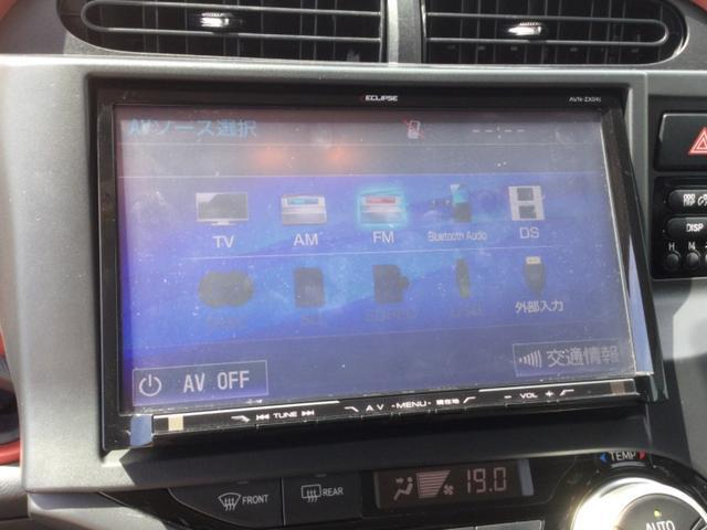 S プッシュスタート・LEDライト・フォグランプ・シートヒーター・イクリプス9インチナビ・ETC(22枚目)