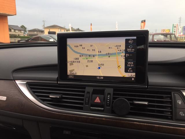 アウディ アウディ A6 3.0TFSIクワトロ 4WD HDDナビTV 20AW