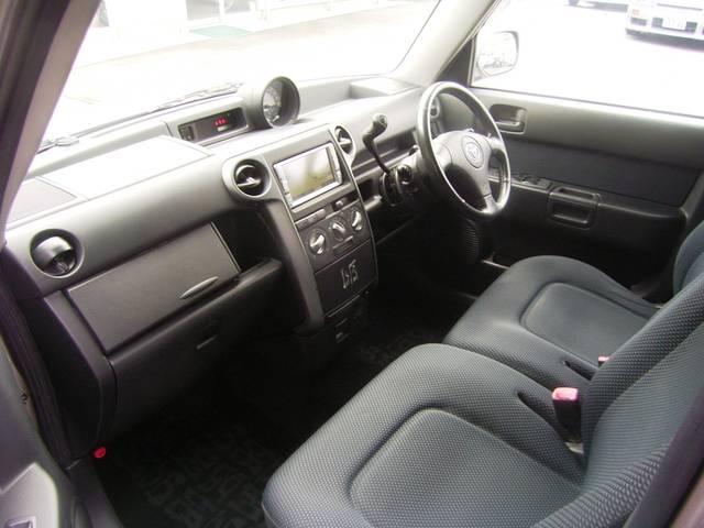 トヨタ bB Z Xバージョン HDDナビ HID 本革ステアリング