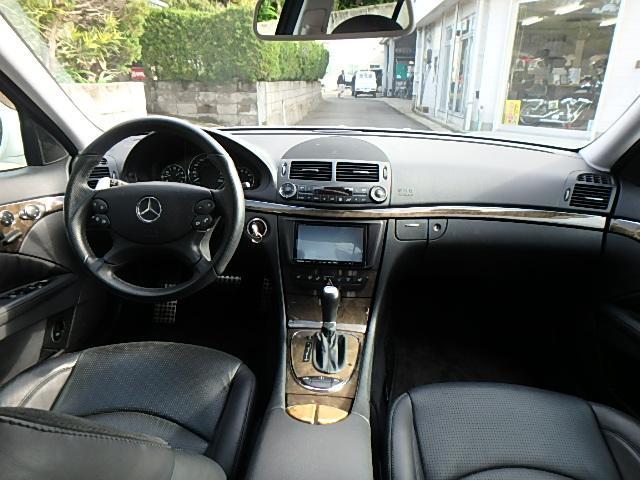 E63 AMG ディーラー車 左ハンドル 黒革シート(22枚目)