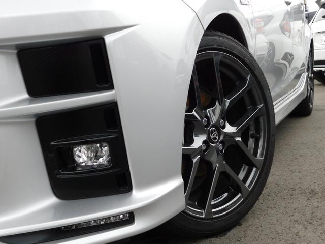 G GRスポーツ・17インチパッケージ トヨタセーフティセンス アルパインSDナビ フルセグTV 専用Fバンパー/ラジエーターグリル/サイドマッドガード/Rバンパー LEDヘッドライト(ダークスモークエクステンション)専用Rルーフスポイラー(5枚目)