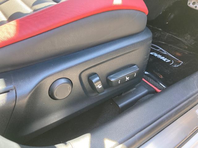 IS300h FスポーツXライン 10周年記念特別仕様車 スピンドルグリル&AW専用ブラック塗装 インテリアカラー(ブラック&スカーレット) Fスポーツ専用本革ステアリング&レッドステッチ 後席サイドエアバッグ 前席ベンチレーション(21枚目)