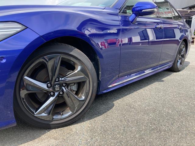 RSアドバンス ジャパンカラーセレクション パノラミックビューモニター アクセサリーコンセント 内装色ブルー BSM/RCTA 禁煙車・ペット臭なし セーフティセンス 3眼LEDヘッドランプ RS仕様18インチAW(5枚目)
