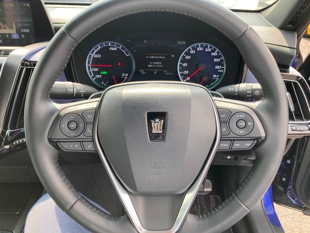RSアドバンス ジャパンカラーセレクション パノラミックビューモニター アクセサリーコンセント 内装色ブルー BSM/RCTA 禁煙車・ペット臭なし セーフティセンス 3眼LEDヘッドランプ RS仕様18インチAW(34枚目)