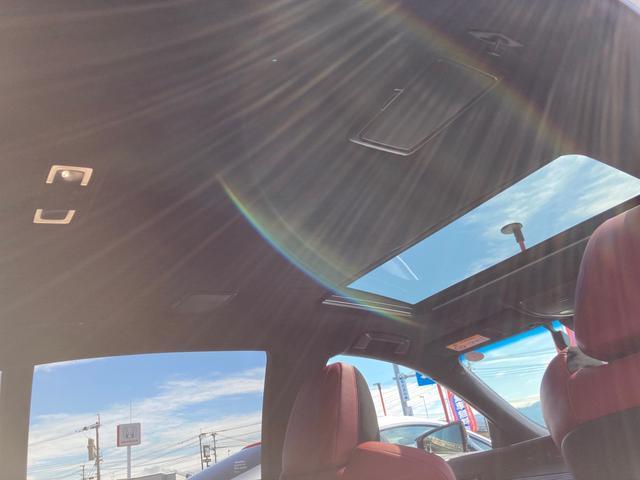 LS500h Fスポーツ ムーンルーフ デジタルインナーミラー 禁煙車 オゾン室内抗菌消臭済 電動リアサンシェード パノラミックビューモニター ブラインドスポットモニター レクサスセーフティシステムプラスA(22枚目)