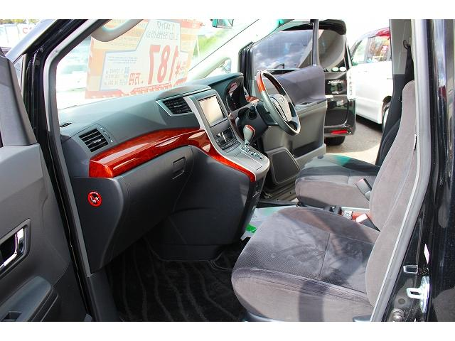トヨタ ヴェルファイア 2.4Z プラチナセレクション2 フリップダウンモニター