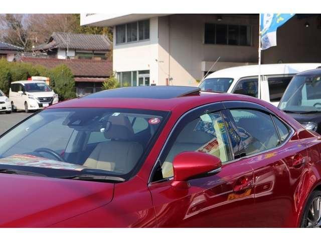 IS300 バージョンL ターボ車 セーフティセンス/衝突軽減 ワンオーナー車 サンルーフ 純正メーカーナビ セミアリニン本革シート 左右シートヒーター 電動チルトハンドル BSM ETC 18インチアルミ(13枚目)