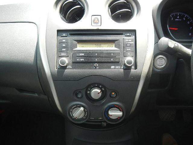 日産 ノート X スマートキー CD ピュアドライブ プッシュスタート