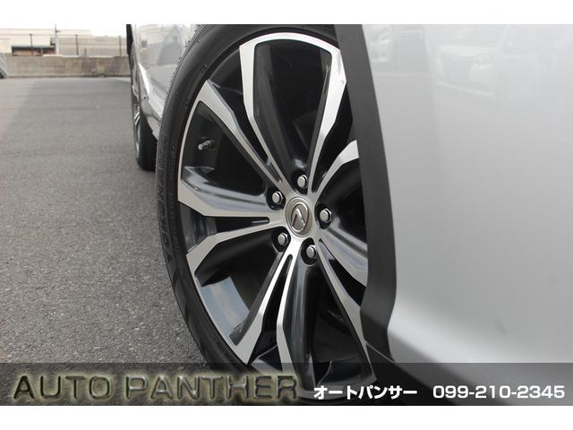 RX450h バージョンL AWD インテリクリソナ BSM パノラミックビュー セーフティ+ セミアニリン本革 後席パワーシート&ヒーター パワーBドア 三眼LED 純正20アルミ スペアタイヤ(19枚目)