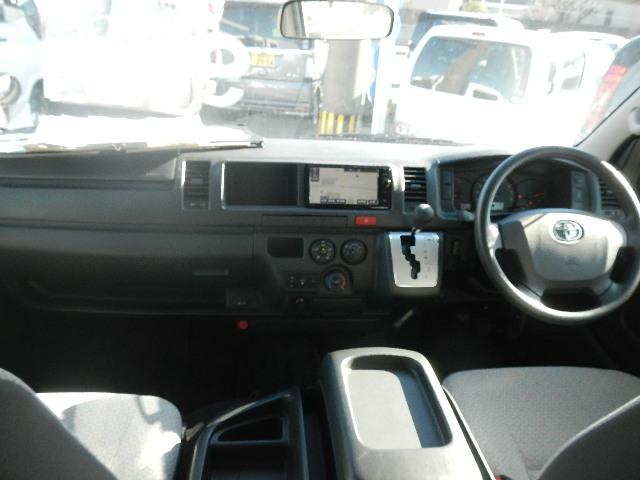 トヨタ ハイエースコミューター スーパーロングGLターボ 福祉車輌 アルミ バックカメラ