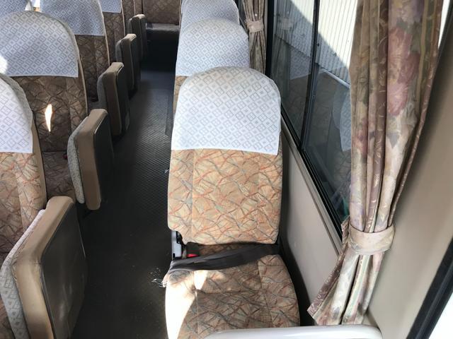 29人乗り オートマ車 ナビ バックカメラ エアサス(34枚目)