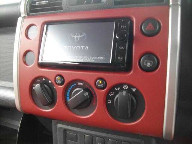 トヨタ FJクルーザー カラーパッケージ ワンオーナー HDDナビ フルセグTV