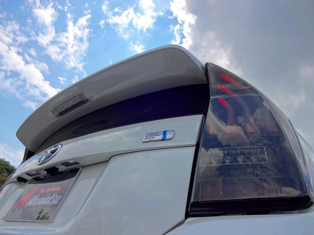 トヨタ プリウス Sツーリングセレクション・G's 社外フルエアロ 19AW