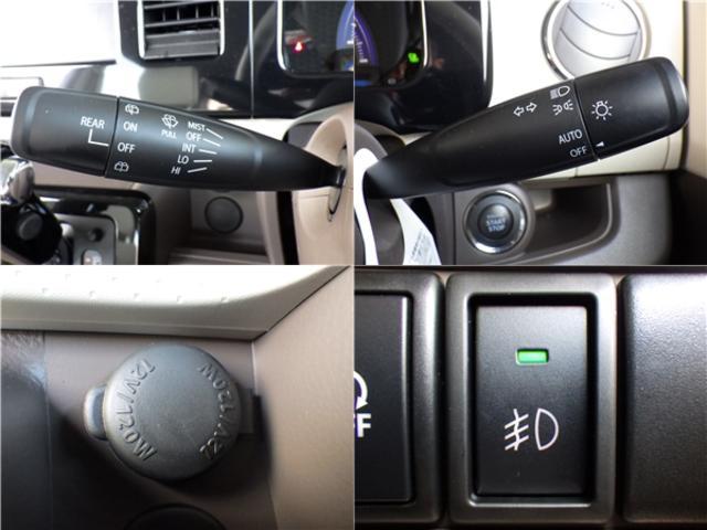 スズキ MRワゴンWit XS エネチャージ HIDライト レザー調キルティングシート