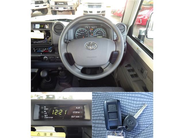 トヨタ ランドクルーザー70 30thアニバーサリー 電動ウィンチ 電動デフロック