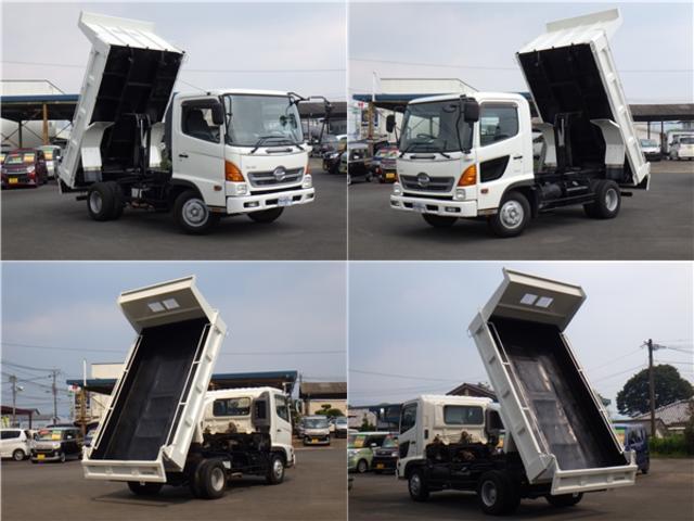 日野 ヒノレンジャー ダンプ  3.75トン積み ターボディーゼル NOx適合車