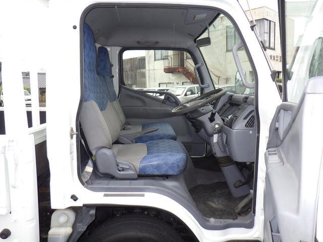 三菱ふそう キャンター 4.2D ロング 平ボデー 2トン積み NOxPM適合車