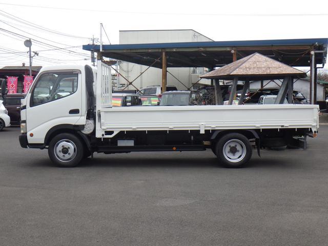 4.9D-T ワイドロング 平ボディ 2トン積み オートマ車(4枚目)