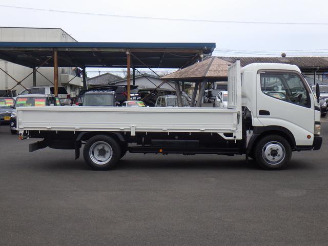 4.9D-T ワイドロング 平ボディ 2トン積み オートマ車(5枚目)