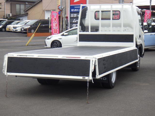 4.9D-T ワイドロング 平ボディ 2トン積み オートマ車(7枚目)