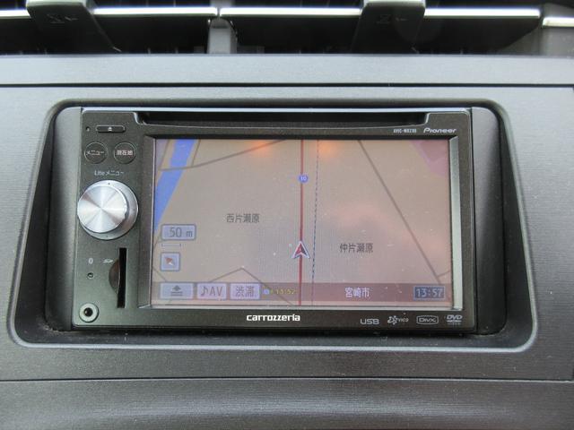 トヨタ プリウス S 社外SDナビDTV Bカメラ 1年保証付