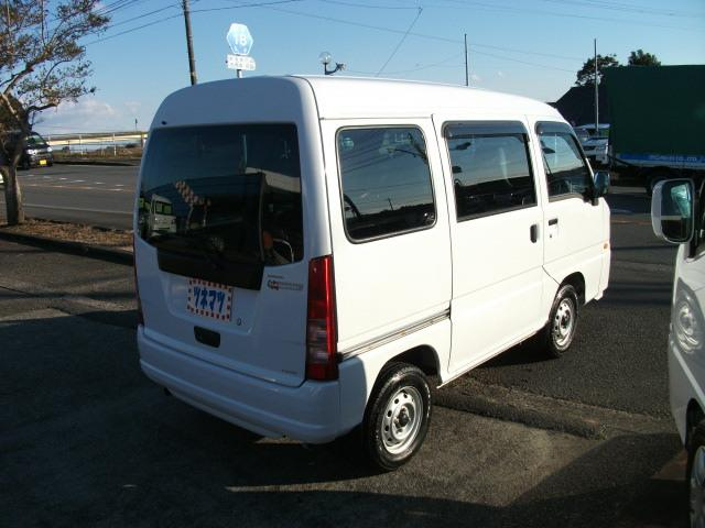 スバル サンバーバン トランスポーター キーレス エアコン パワステ