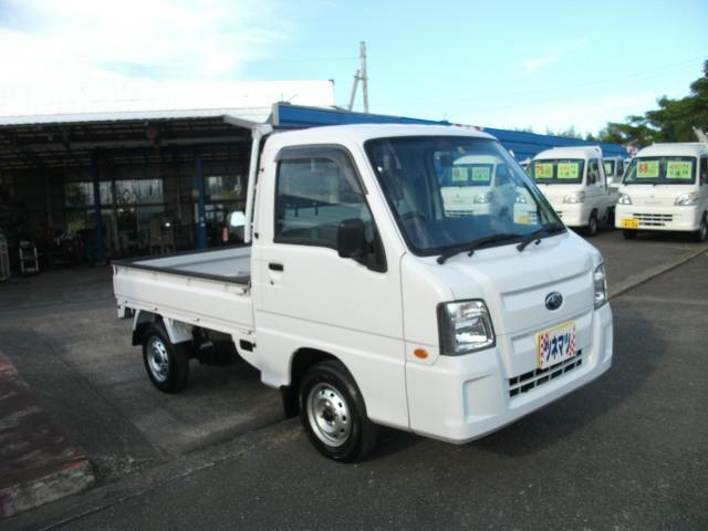 スバル サンバートラック TB JA車 4WD 5速ミッション車