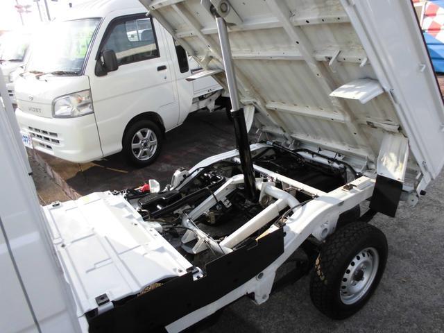 ダンプ 4WD 5速ミッション エアコン パワステ(5枚目)