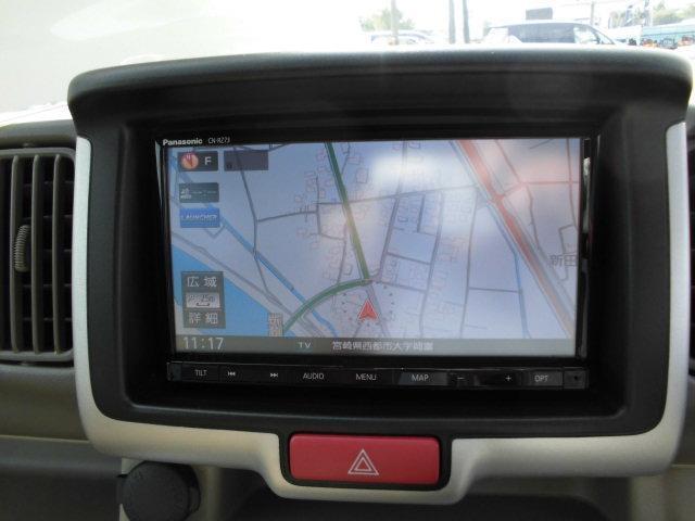 PZターボ レーダーブレーキサポート 純正ナビ地デジ 片側電動スライドドア スマートキー HIDライト(9枚目)