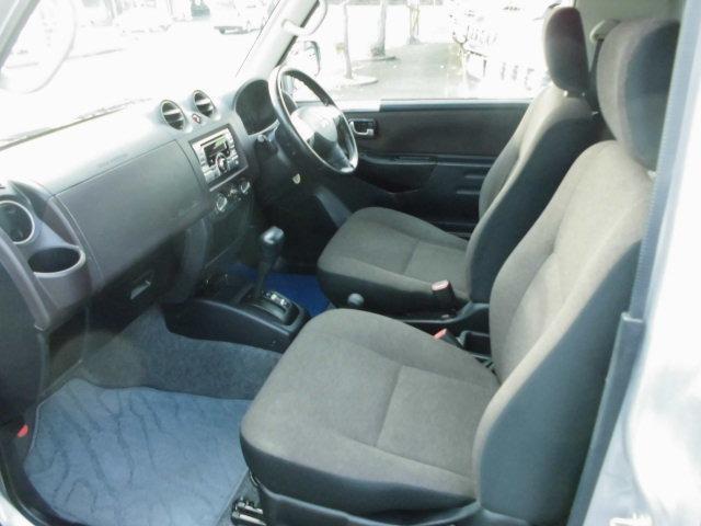 エクシード 4WDターボ 背面タイヤ ハードカバー キーレス CDデッキ オートマ車(10枚目)