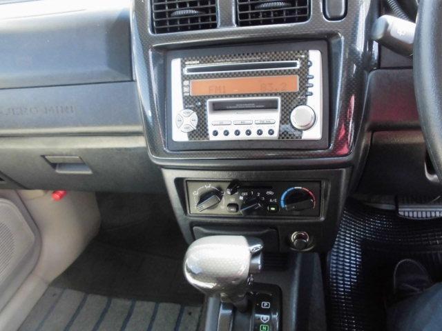 サウンドビートエディションVR 4WDターボ車 キーレス CDデッキ 純正アルミ 背面タイヤ ハードカバー(7枚目)