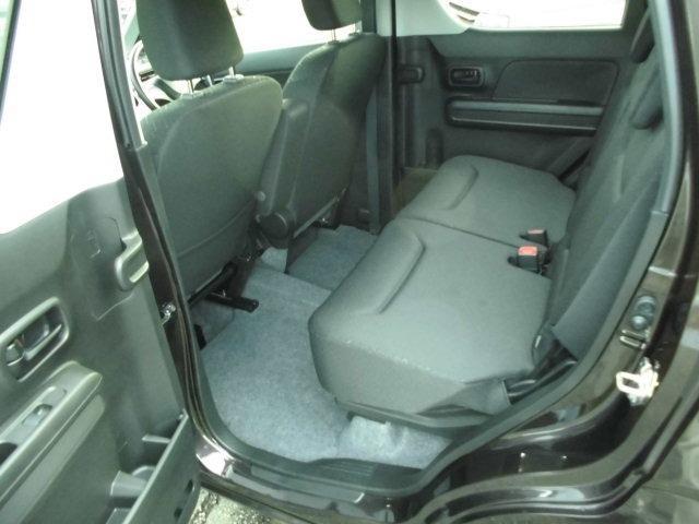 ハイブリッドFX セーフティーサポート装着車 デュアルブレーキサポート レーンアシスト クリアランスソナー 横滑り防止機能 アイドリングストップ スマートキー プッシュスターター シートヒーター ベンチシート(14枚目)