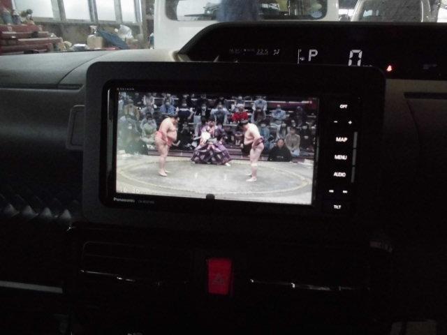 カスタムXセレクション 社外ナビ地デジ バックカメラ ETC 両側電動スライドドア スマートキー プッシュスターター 衝突軽減ブレーキ 横滑り防止機能 アイドリングストップ コーナーセンサー(9枚目)