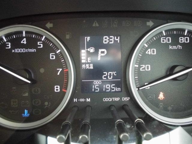 アクティバG SAIII 社外ナビフルセグTV バックカメラ スマートキープッシュスターター 衝突軽減ブレーキ オートマチックハイビーム 横滑り防止機能 アイドリングストップ 走行15195km(19枚目)