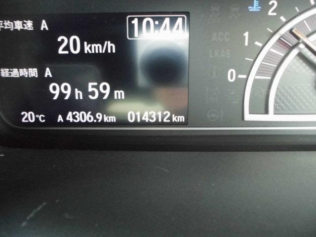 G・Lホンダセンシング 社外ナビ地デジ バックカメラ ドライブレコーダー ETC スマートキー プッシュスターター 片側電動スライドドア クルーズコントロール オートライト LEDヘッドライト 走行14312km(23枚目)