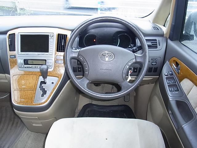 トヨタ アルファードG AX Lエディション HDDナビ 片側電動ドア 18AW