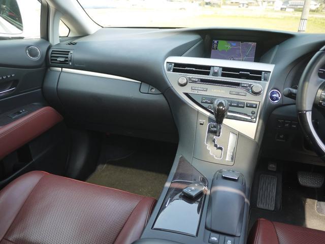 RX450h バージョンL サンルーフ 19インチ エアサス(11枚目)