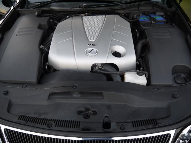 レクサス GS GS350黒革スピンドルエアロ 車高調 イカリング