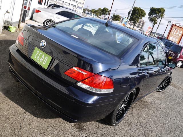 BMW BMW 740iオートクチュールエアロ ダウンサス20アルミ