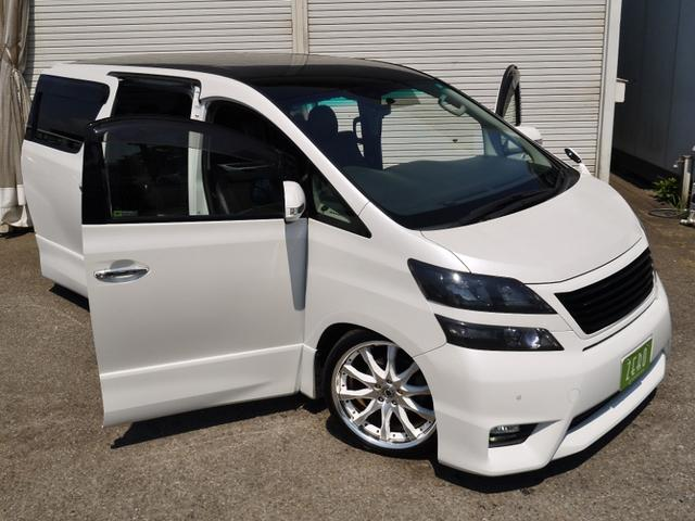 2.4Z車高調両側電動ドア地デジリアモニ(3枚目)