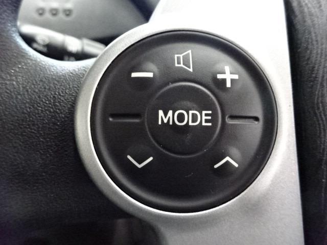 ステアリングスイッチ付☆ハンドルにぎりながら指一本でオーディオ操作ができます♪