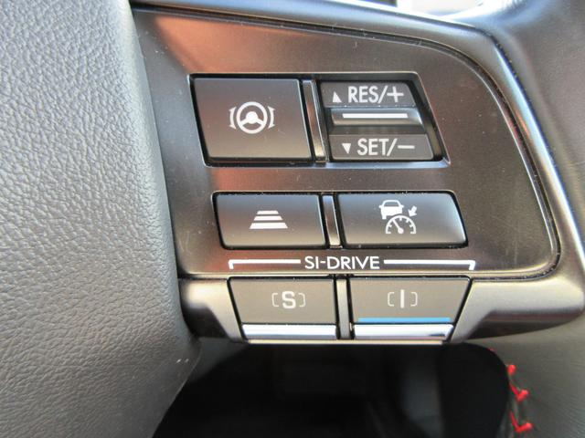 追従式クルーズコントロール等の操作スイッチ類