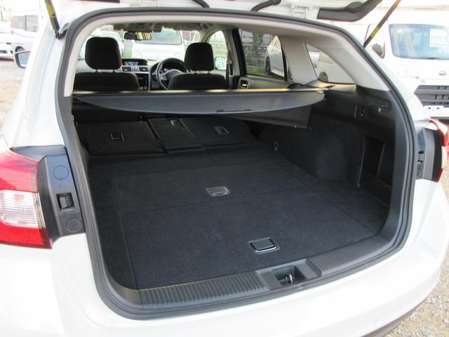 リヤシートを倒せば、大きな荷物もしっかりと積載可能です!