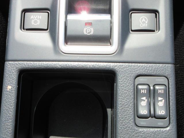 運転席・助手席にはシートヒータも装備されています