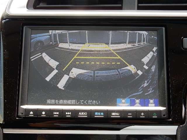 ハイブリッド L バックモニター タッチパネル式オートエアコン ビルトインETC エンジンプッシュスタート アイドリングストップ スマートキー^(12枚目)